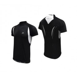 More Mile Cycling Specific Shirt - Black and White