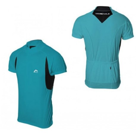 More Mile Cycling Specific Shirt - Light Blue