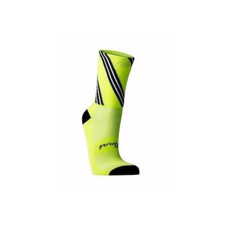 Finni Socks - Candy Sticks - HiViz Yellow