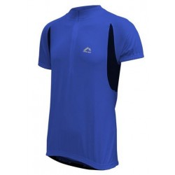 More Mile Cycling Specific Shirt - Blue and Black