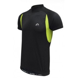 More Mile Cycling Specific Shirt - Black and Lumo
